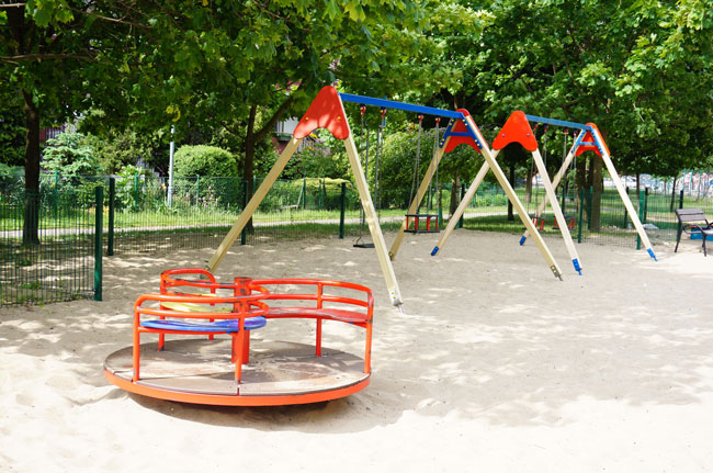 swings roundabout
