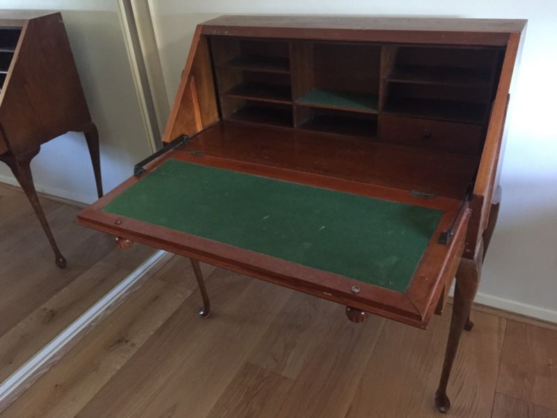 Queen Anne folding desk